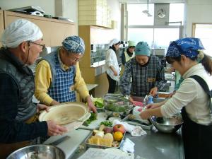 料理講習会を開催しました